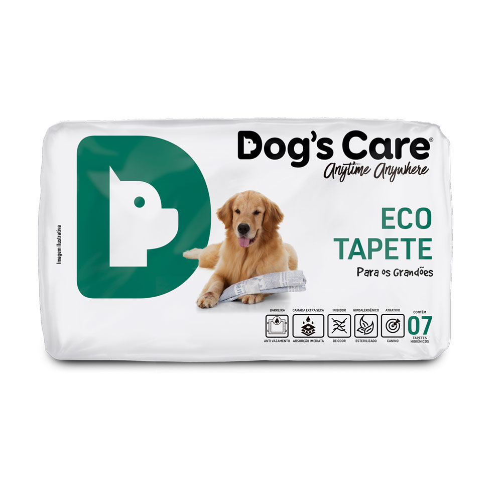 Eco Tapete Dog's Care Grande Porte